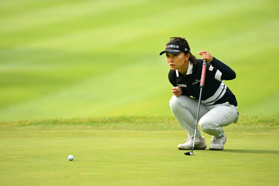 宮里藍 サントリーレディスオープンゴルフトーナメント 第2日 テレサ・ルー <Photo:Atsushi Tomura/Getty Images>