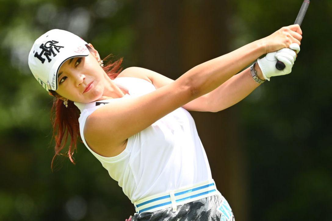 宮里藍 サントリーレディスオープンゴルフトーナメント 第2日 イボミ <Photo:Atsushi Tomura/Getty Images>