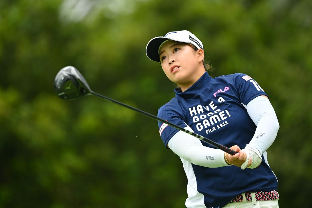 宮里藍 サントリーレディスオープンゴルフトーナメント 第3日 西郷真央 <Photo:Atsushi Tomura/Getty Images>