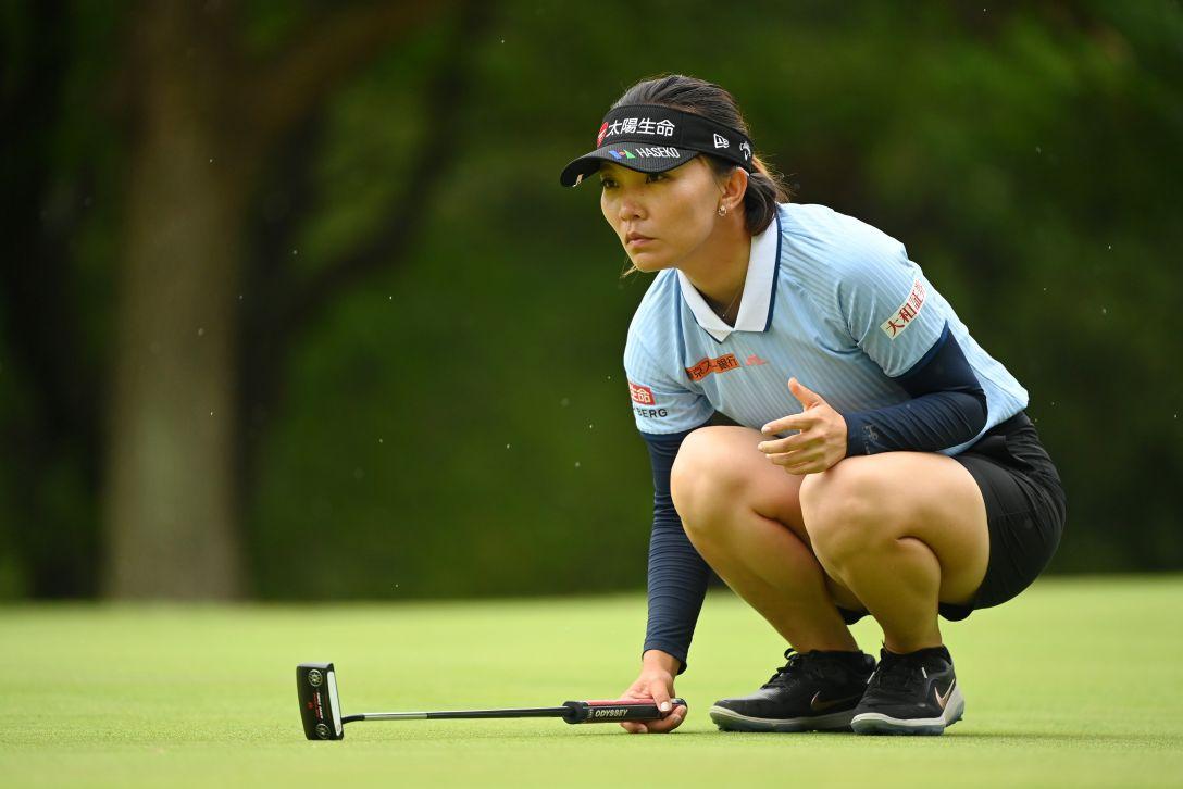 宮里藍 サントリーレディスオープンゴルフトーナメント 第3日 テレサ・ルー <Photo:Atsushi Tomura/Getty Images>
