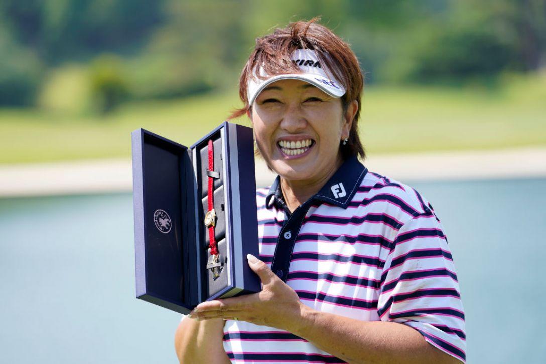 JLPGAレジェンズチャンピオンシップ CHOFUカップ 最終日 福嶋晃子 <Photo:Toru Hanai/Getty Images>