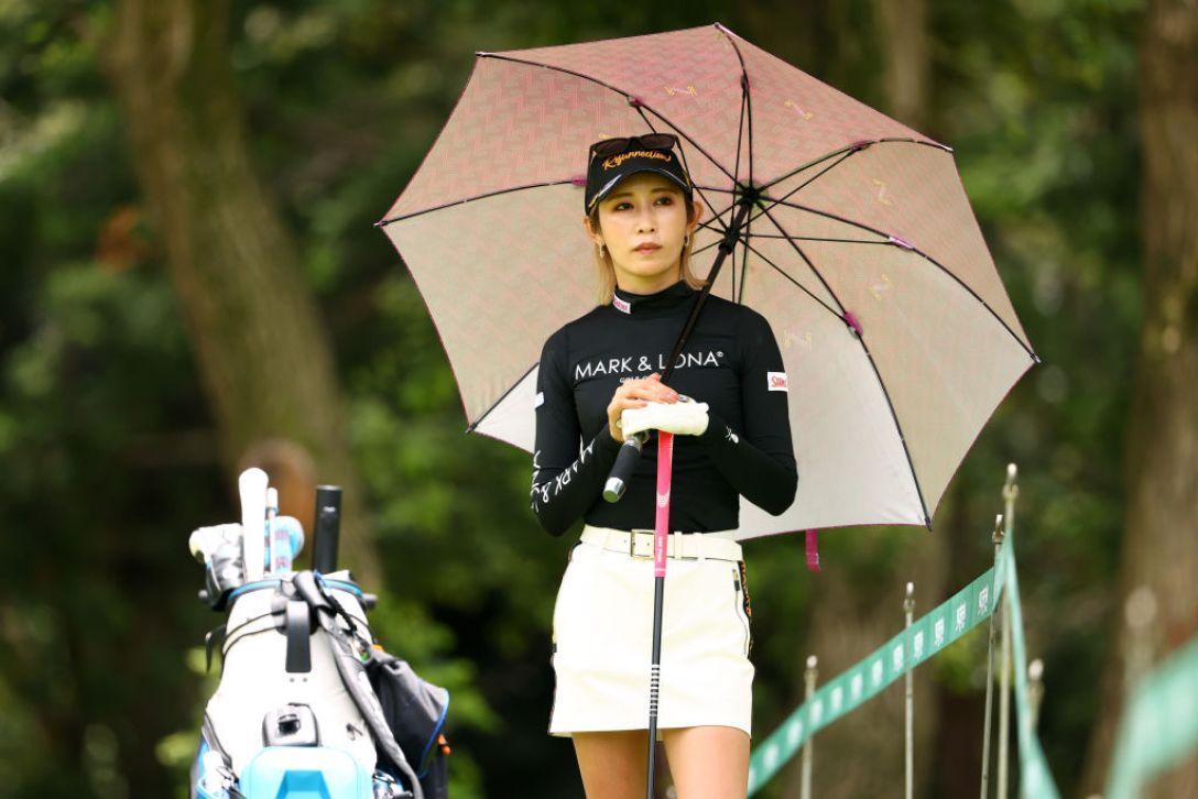 アース・モンダミンカップ 第2日 金田久美子 <Photo:Atsushi Tomura/Getty Images>