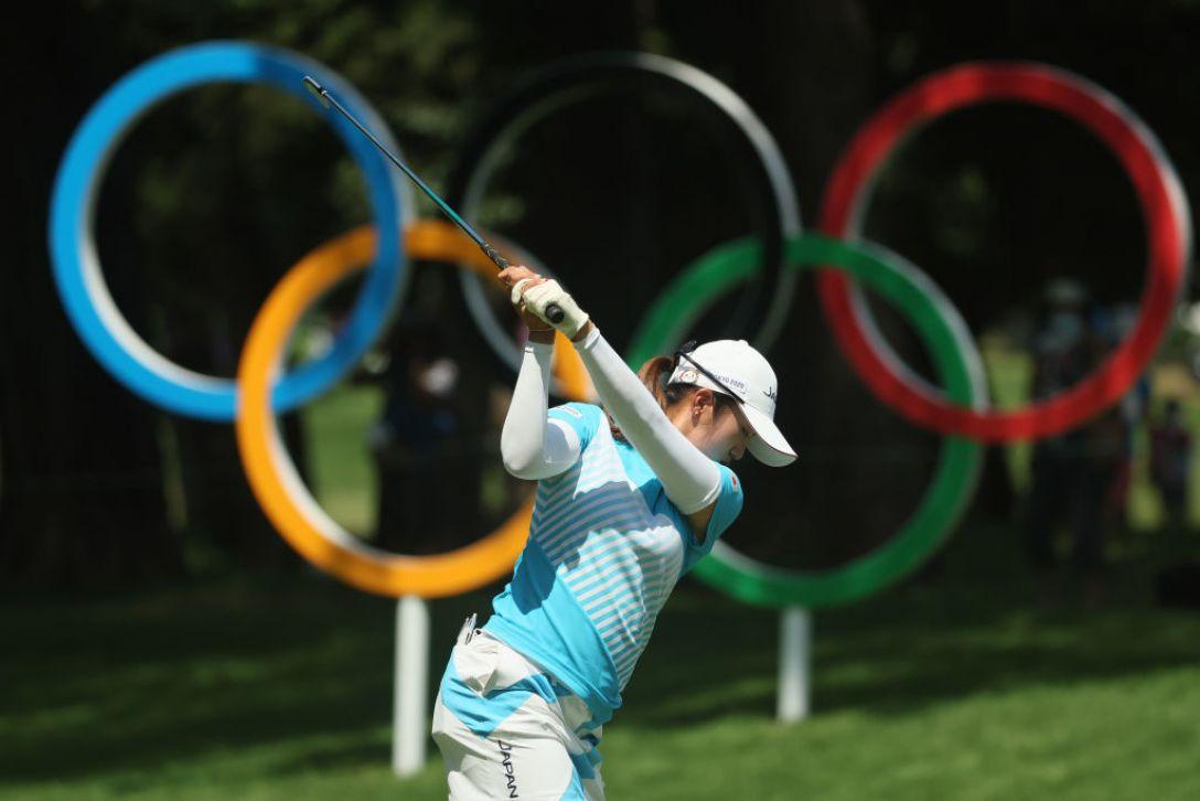 東京2020オリンピック 第3日 稲見萌寧<Photo:Mike Ehrmann/Getty Images>