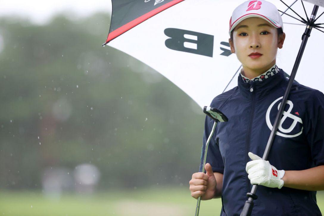 NEC軽井沢72ゴルフトーナメント 第1日 松田鈴英 <Photo:Atsushi Tomura/Getty Images>