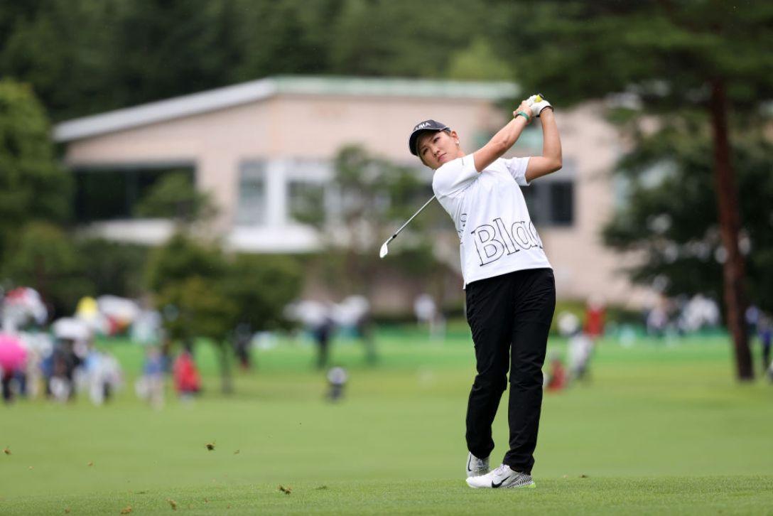 NEC軽井沢72ゴルフトーナメント 最終日 成田美寿々 <Photo:Atsushi Tomura/Getty Images>