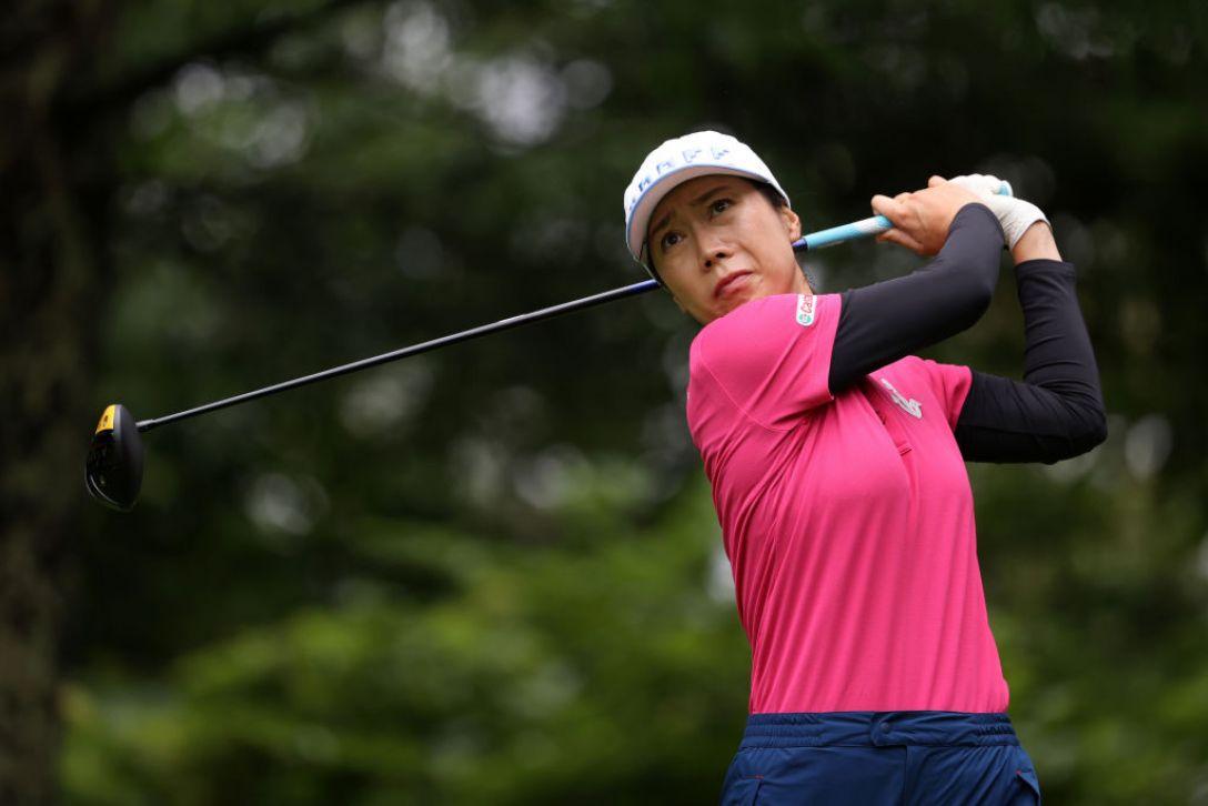 NEC軽井沢72ゴルフトーナメント 最終日 李知姫 <Photo:Atsushi Tomura/Getty Images>