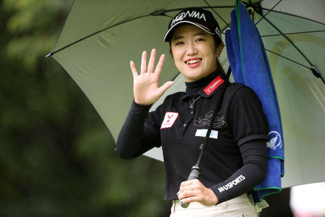 NEC軽井沢72ゴルフトーナメント 最終日 林菜乃子 <Photo:Atsushi Tomura/Getty Images>