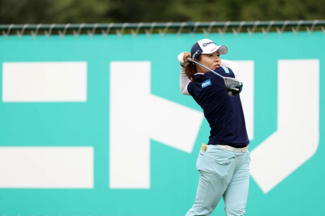 ニトリレディスゴルフトーナメント 第1日 永峰咲希 <Photo:Atsushi Tomura/Getty Images>