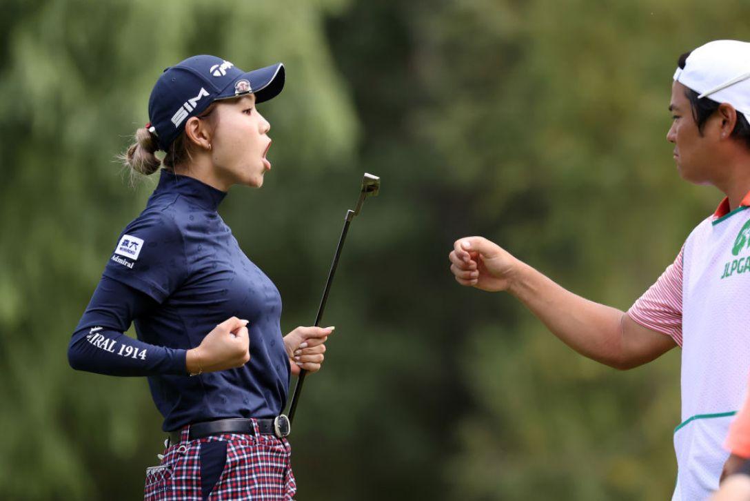 ニトリレディスゴルフトーナメント 第1日 山路晶 <Photo:Atsushi Tomura/Getty Images>