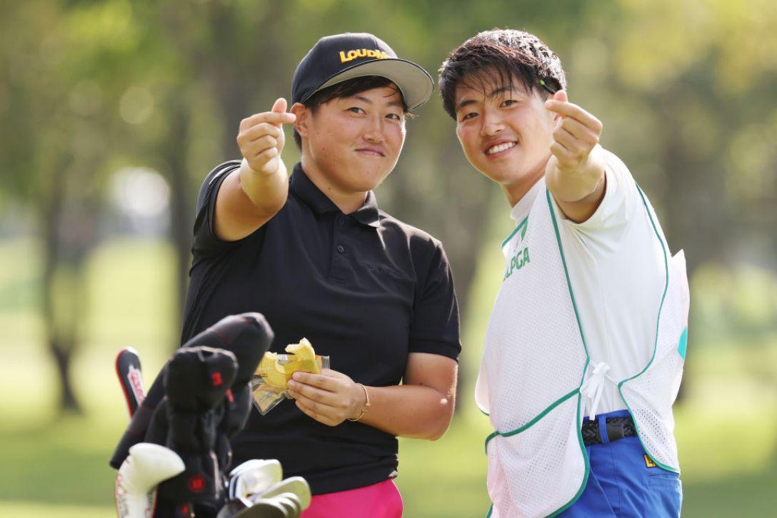 ニトリレディスゴルフトーナメント 第3日 工藤遥加 <Photo:Atsushi Tomura/Getty Images>