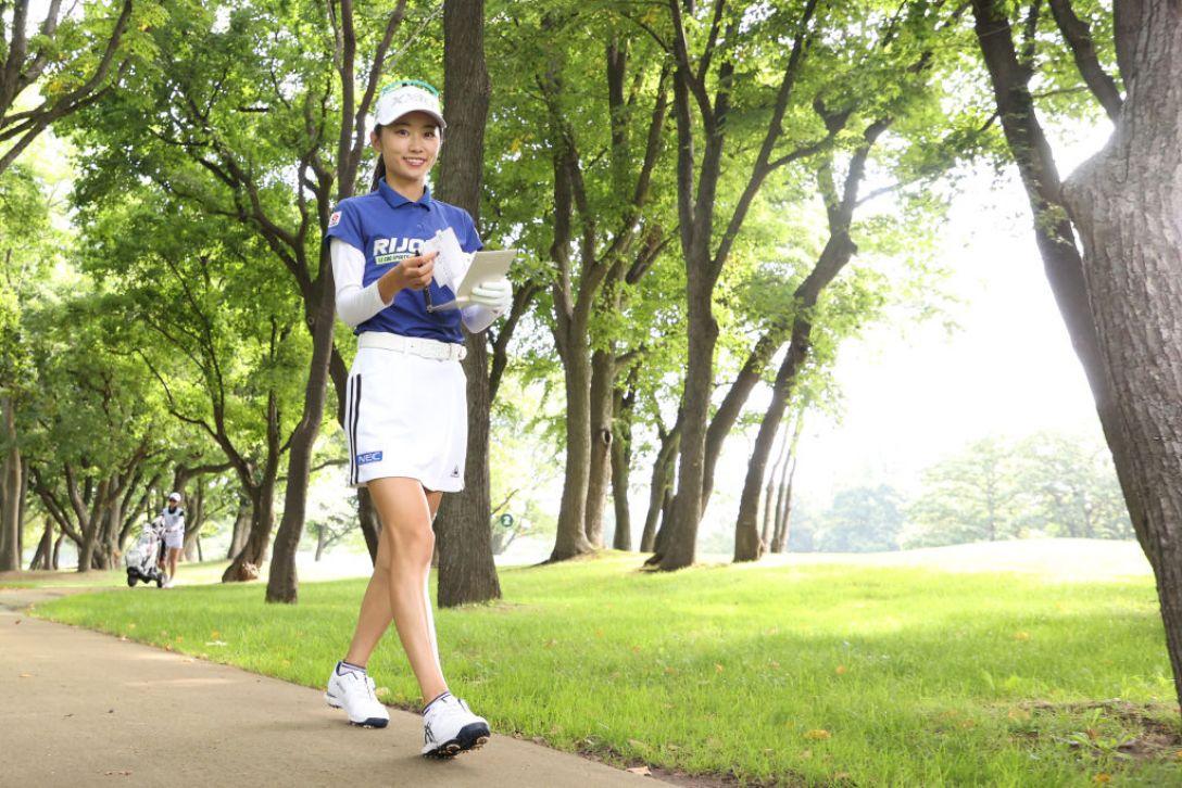 ニトリレディスゴルフトーナメント 第3日 安田祐香 <Photo:Atsushi Tomura/Getty Images>