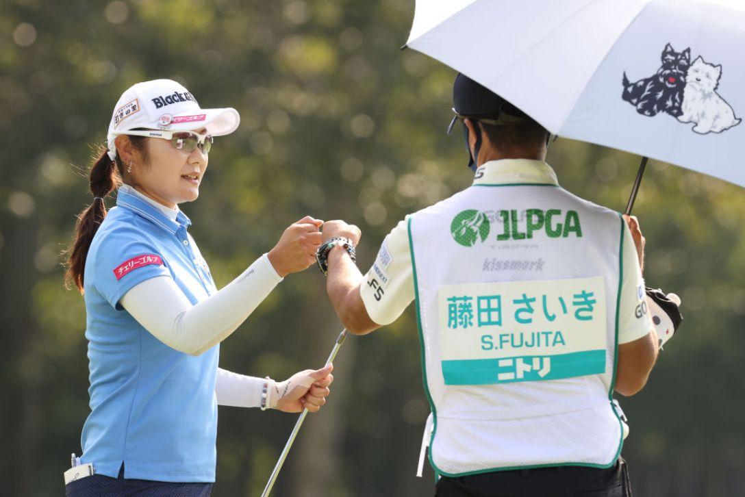 ニトリレディスゴルフトーナメント 第3日 藤田さいき <Photo:Atsushi Tomura/Getty Images>