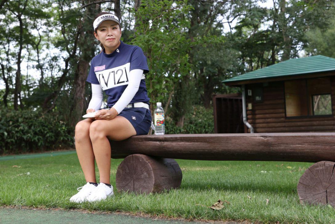 ニトリレディスゴルフトーナメント 第3日 篠原まりあ <Photo:Atsushi Tomura/Getty Images>