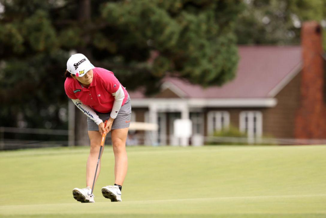 ニトリレディスゴルフトーナメント 最終日 勝みなみ <Photo:Atsushi Tomura/Getty Images>