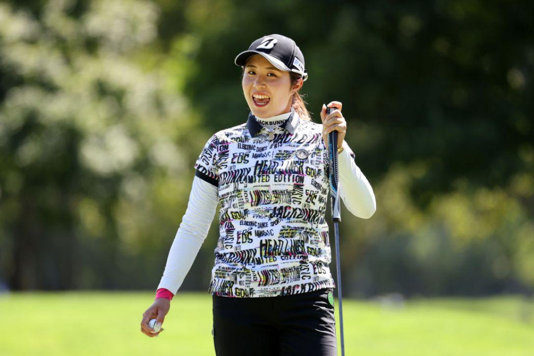 ニトリレディスゴルフトーナメント 最終日 大里桃子 <Photo:Atsushi Tomura/Getty Images>