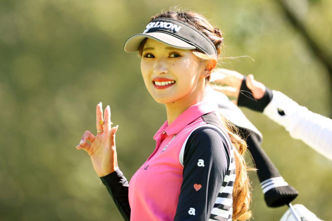 ニトリレディスゴルフトーナメント 最終日 臼井麗香 <Photo:Atsushi Tomura/Getty Images>
