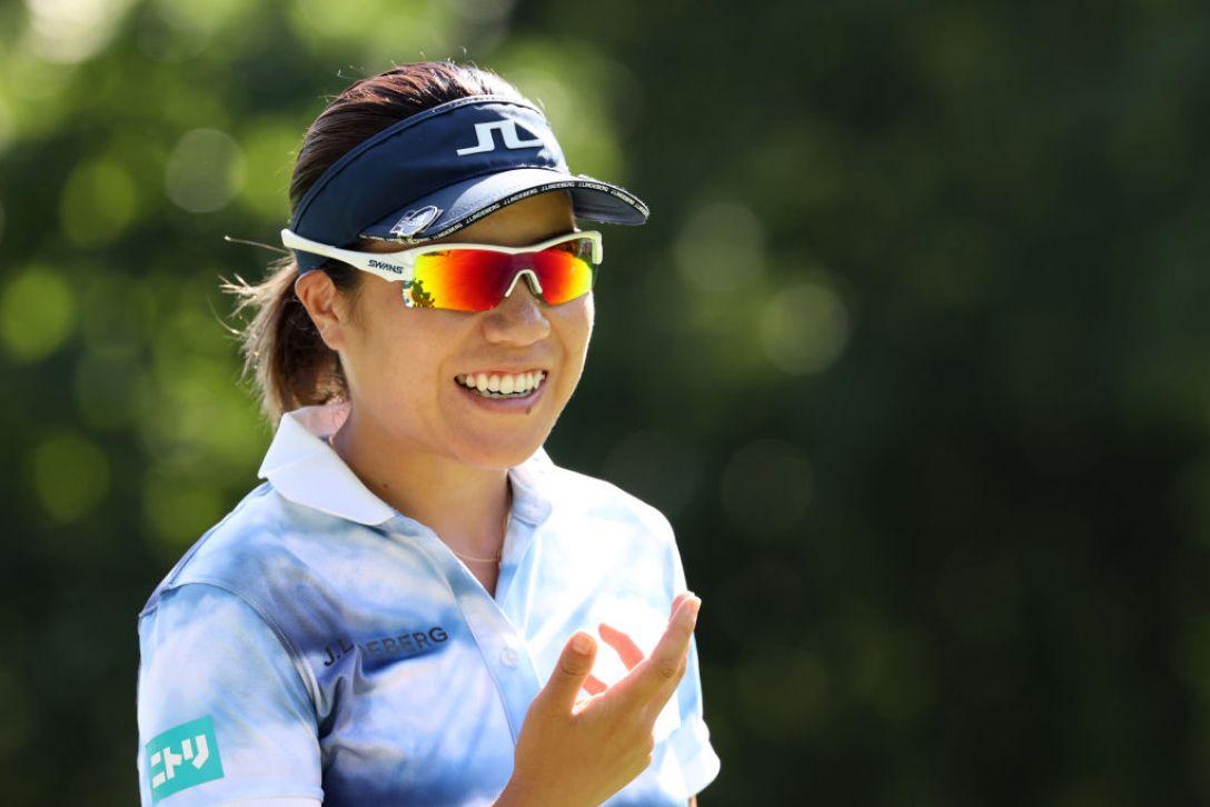 ニトリレディスゴルフトーナメント 最終日 岡山絵里 <Photo:Atsushi Tomura/Getty Images>