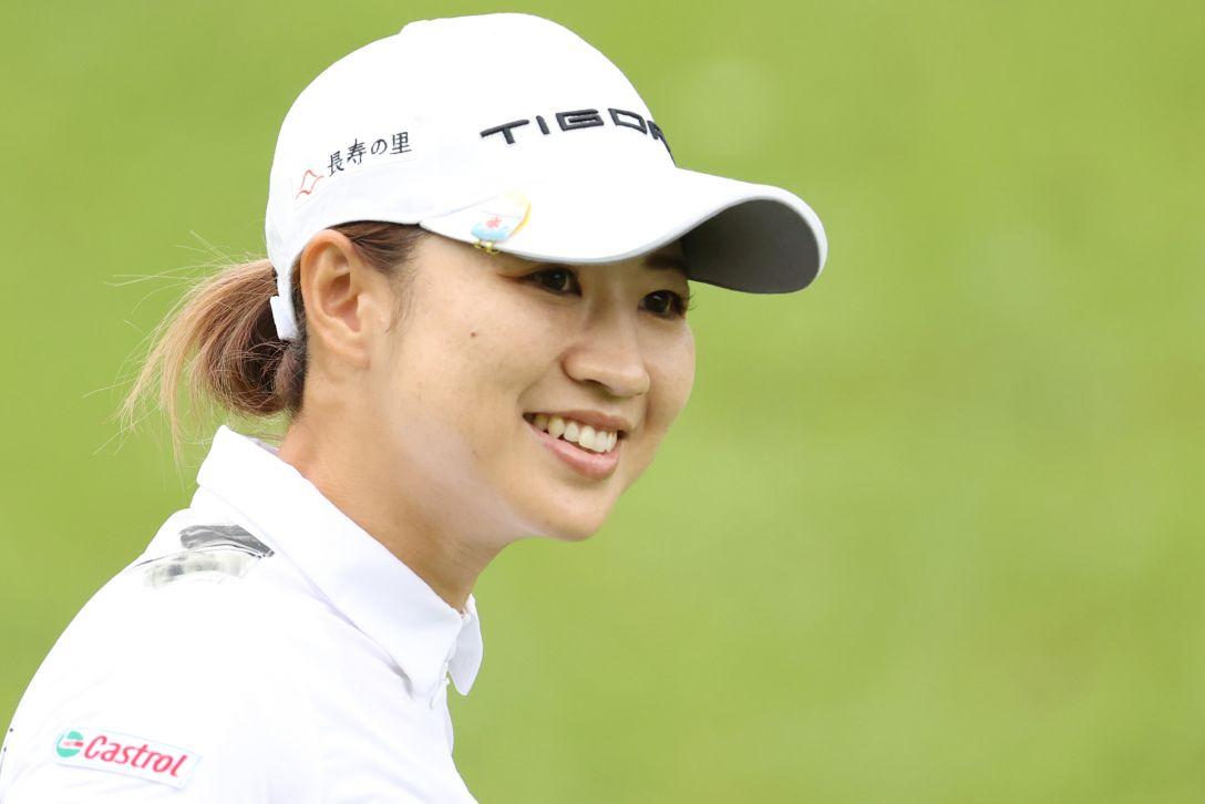 ゴルフ5レディス プロゴルフトーナメント 第1日 川満陽香理 <Photo:Atsushi Tomura/Getty Images>