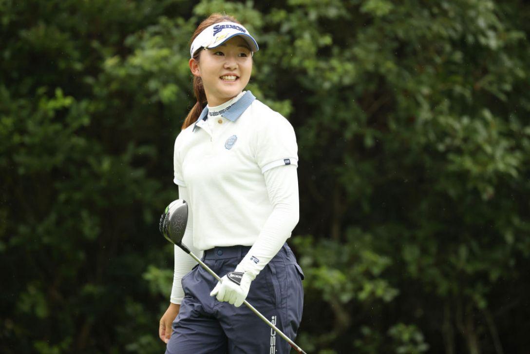 ゴルフ5レディス プロゴルフトーナメント 第2日 岸部桃子 <Photo:Atsushi Tomura/Getty Images>