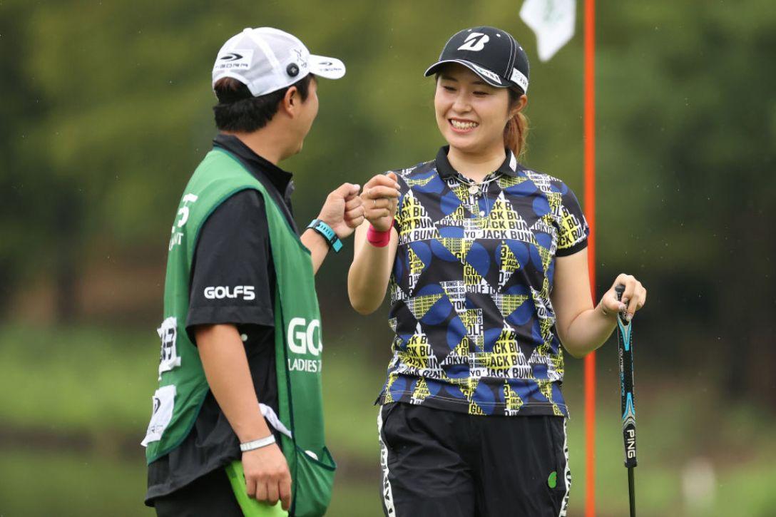 ゴルフ5レディス プロゴルフトーナメント 第1日 大里桃子 <Photo:Atsushi Tomura/Getty Images>
