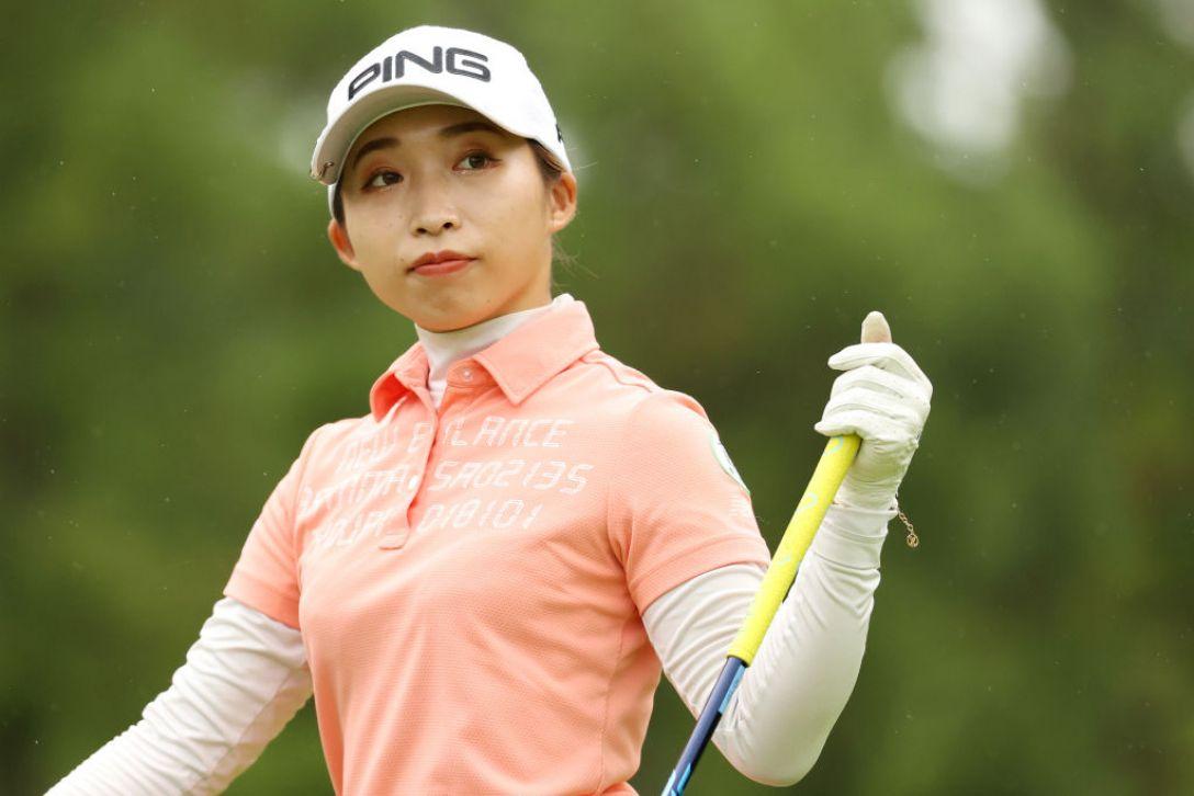 ゴルフ5レディス プロゴルフトーナメント 第2日 大出瑞月 <Photo:Atsushi Tomura/Getty Images>