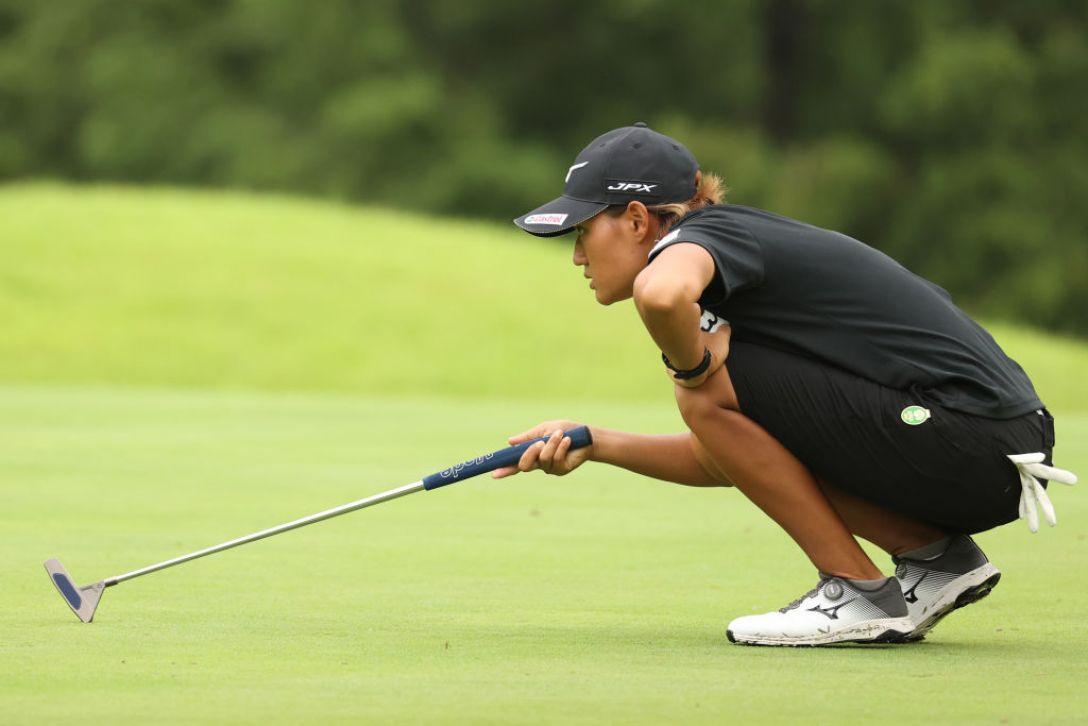 ゴルフ5レディス プロゴルフトーナメント 第2日 野澤真央 <Photo:Atsushi Tomura/Getty Images>