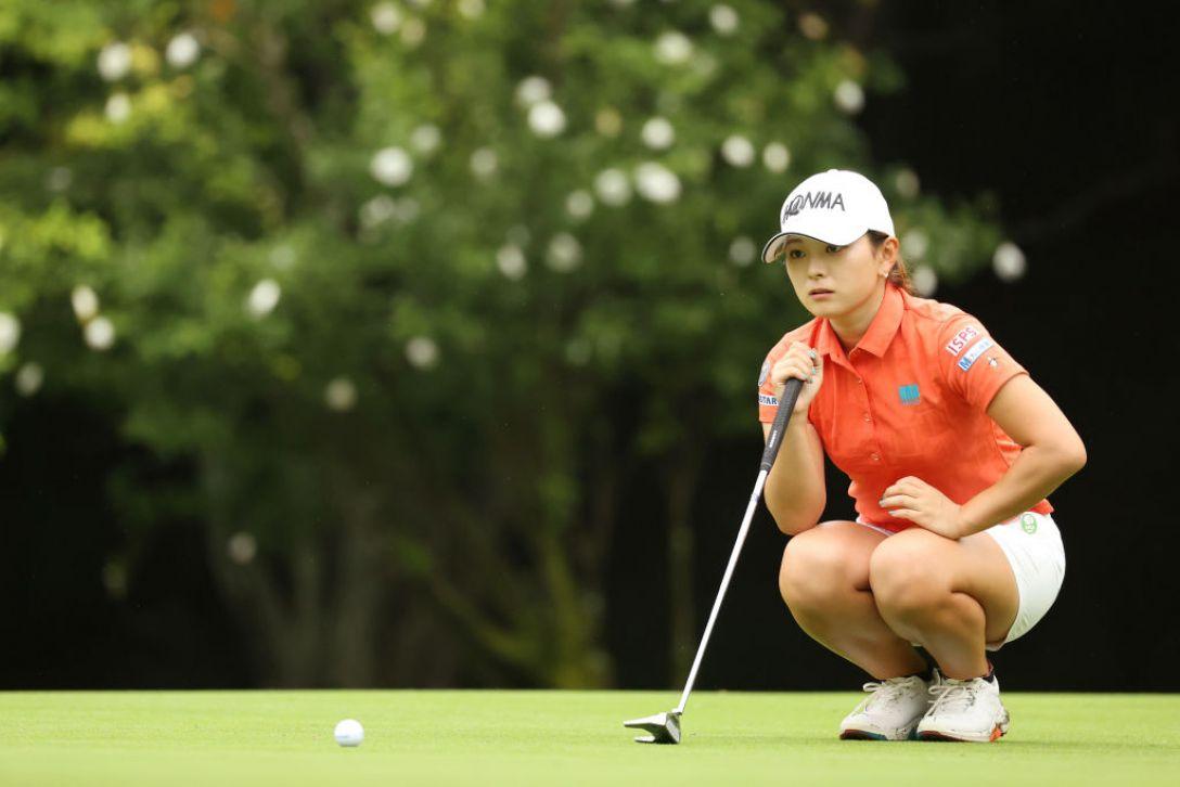 ゴルフ5レディス プロゴルフトーナメント 第2日 吉川桃 <Photo:Atsushi Tomura/Getty Images>