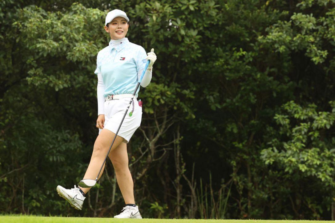ゴルフ5レディス プロゴルフトーナメント 第2日 吉田優利 <Photo:Atsushi Tomura/Getty Images>