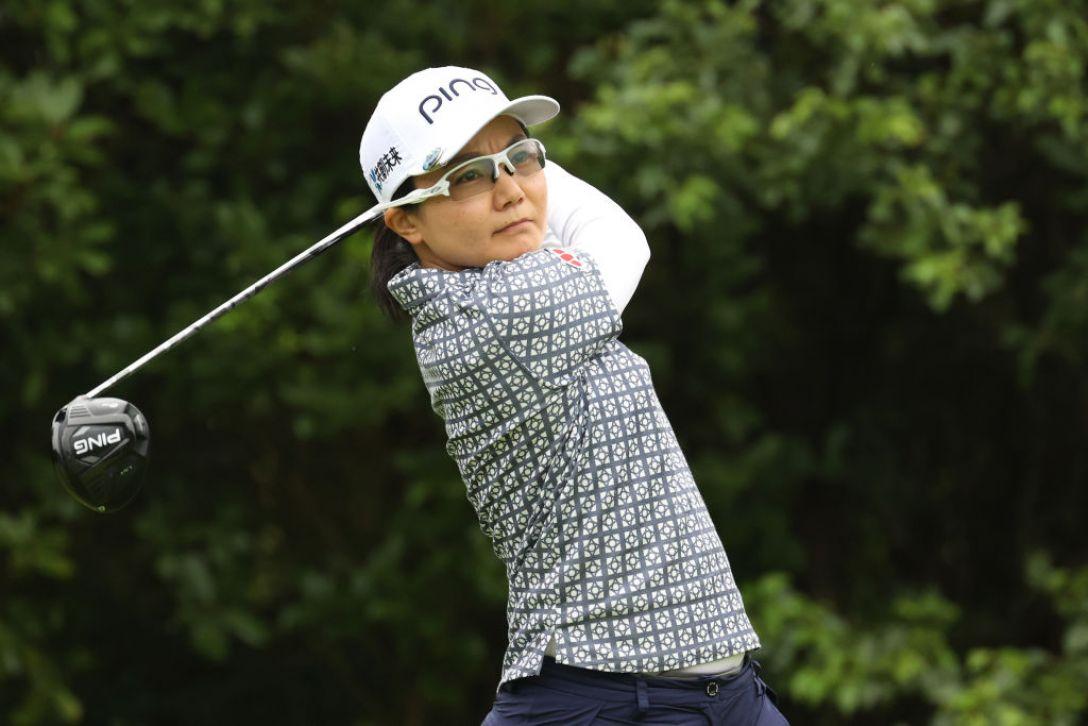 ゴルフ5レディス プロゴルフトーナメント 第2日 上原彩子 <Photo:Atsushi Tomura/Getty Images>