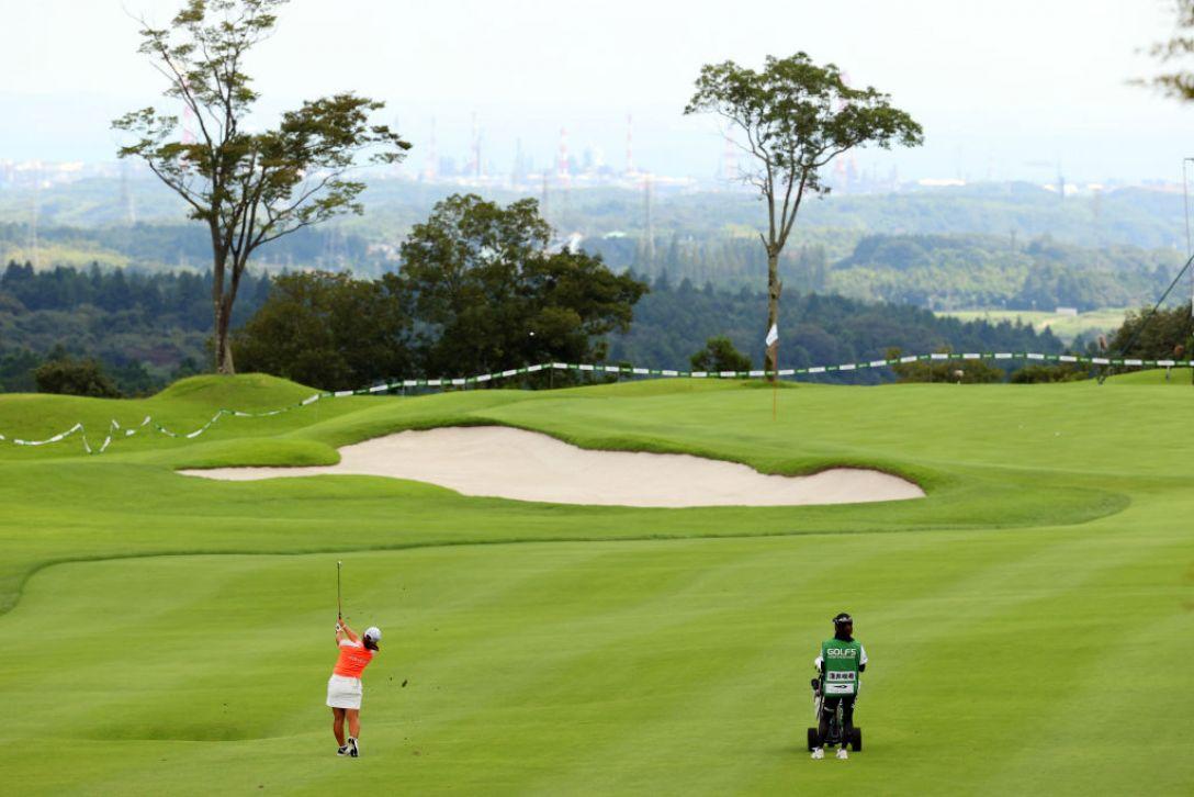 ゴルフ5レディス プロゴルフトーナメント 最終日 淺井咲希 <Photo:Atsushi Tomura/Getty Images>