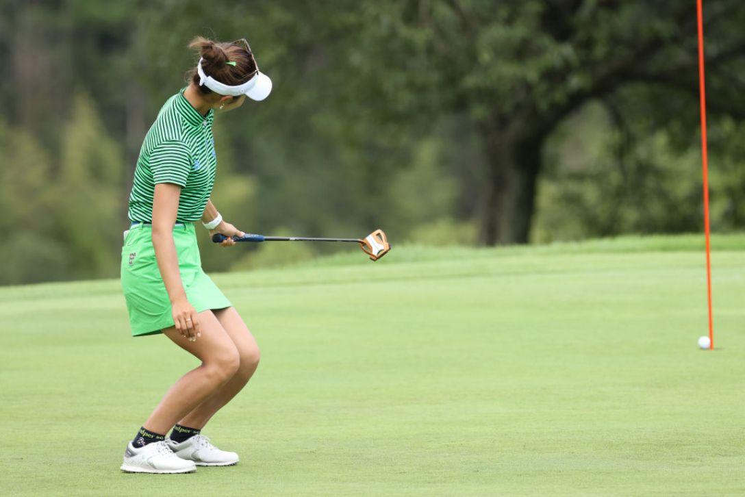 ゴルフ5レディス プロゴルフトーナメント 最終日 鶴岡果恋 <Photo:Atsushi Tomura/Getty Images>