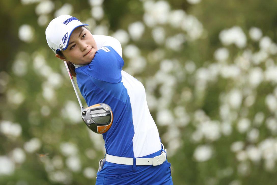 ゴルフ5レディス プロゴルフトーナメント 最終日 新垣比菜 <Photo:Atsushi Tomura/Getty Images>