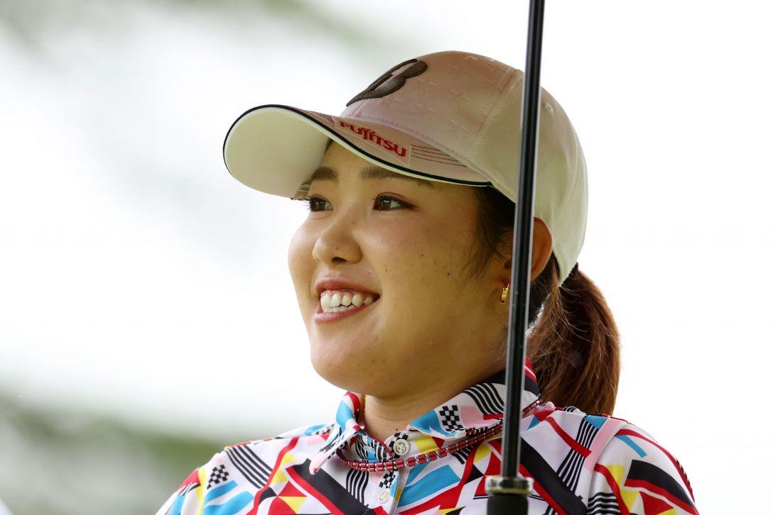日本女子プロゴルフ選手権大会コニカミノルタ杯 第1日 古江彩佳 <Photo:Atsushi Tomura/Getty Images>