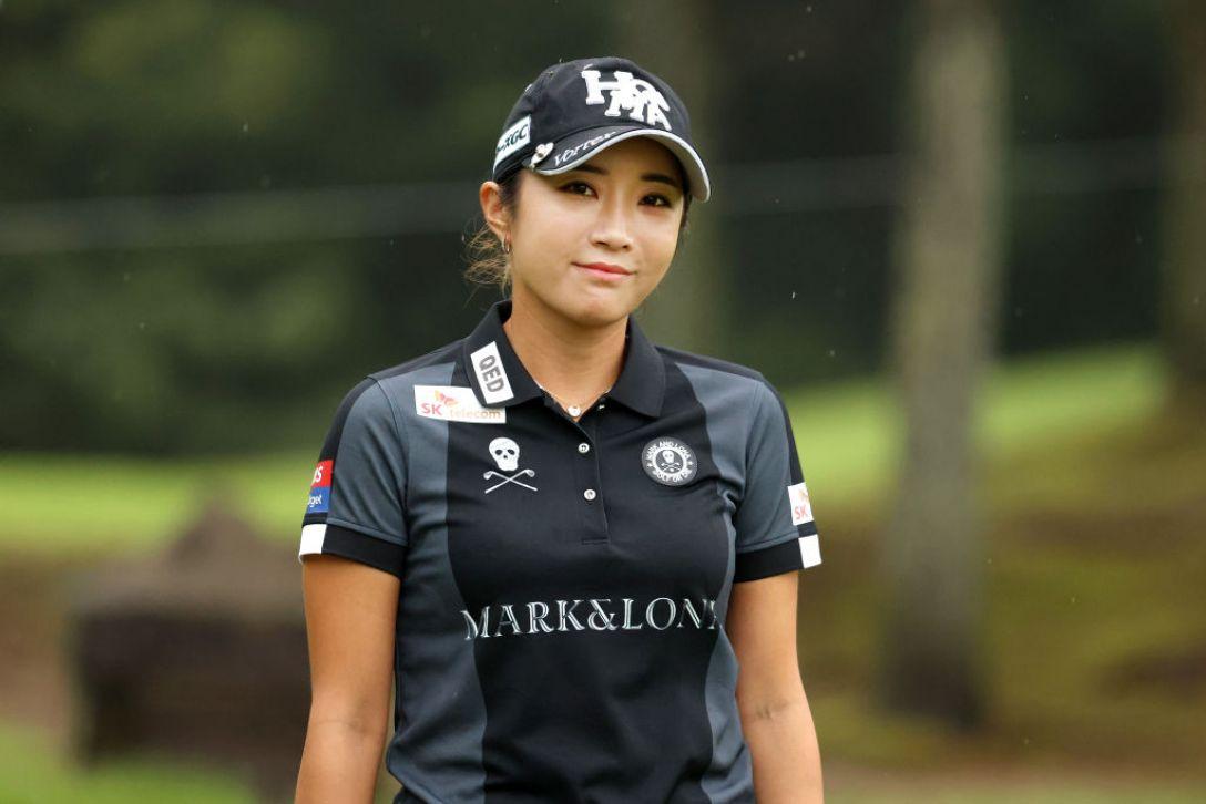 日本女子プロゴルフ選手権大会コニカミノルタ杯 第1日 イボミ <Photo:Atsushi Tomura/Getty Images>
