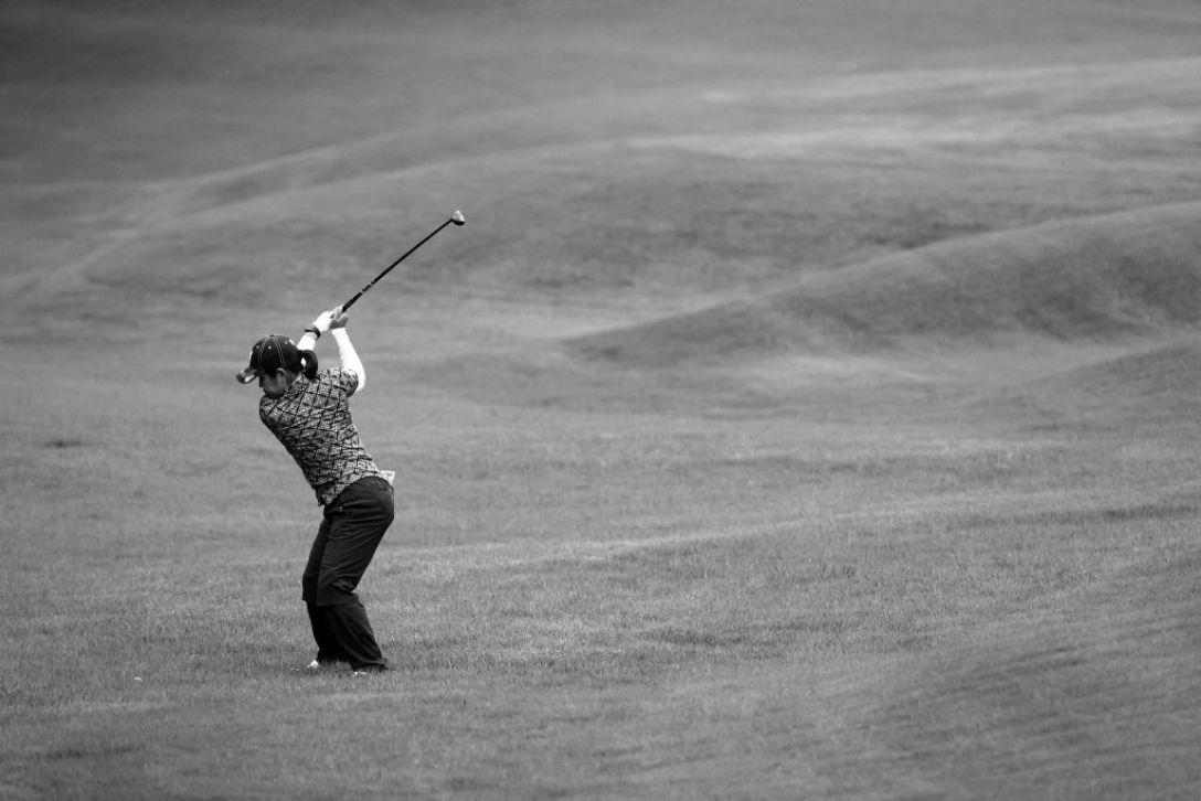 日本女子プロゴルフ選手権大会コニカミノルタ杯 第1日 但馬友 <Photo:Atsushi Tomura/Getty Images>
