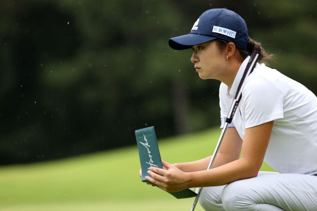日本女子プロゴルフ選手権大会コニカミノルタ杯 第1日 森田遥 <Photo:Atsushi Tomura/Getty Images>