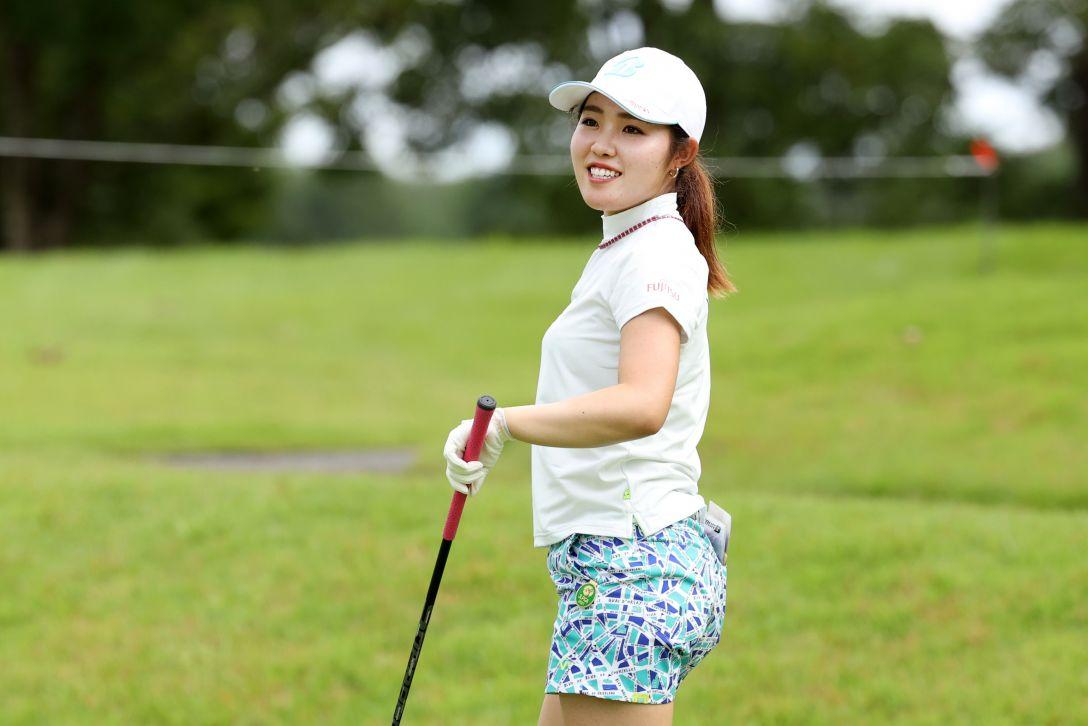 日本女子プロゴルフ選手権大会コニカミノルタ杯 第2日 古江彩佳 <Photo:Atsushi Tomura/Getty Images>