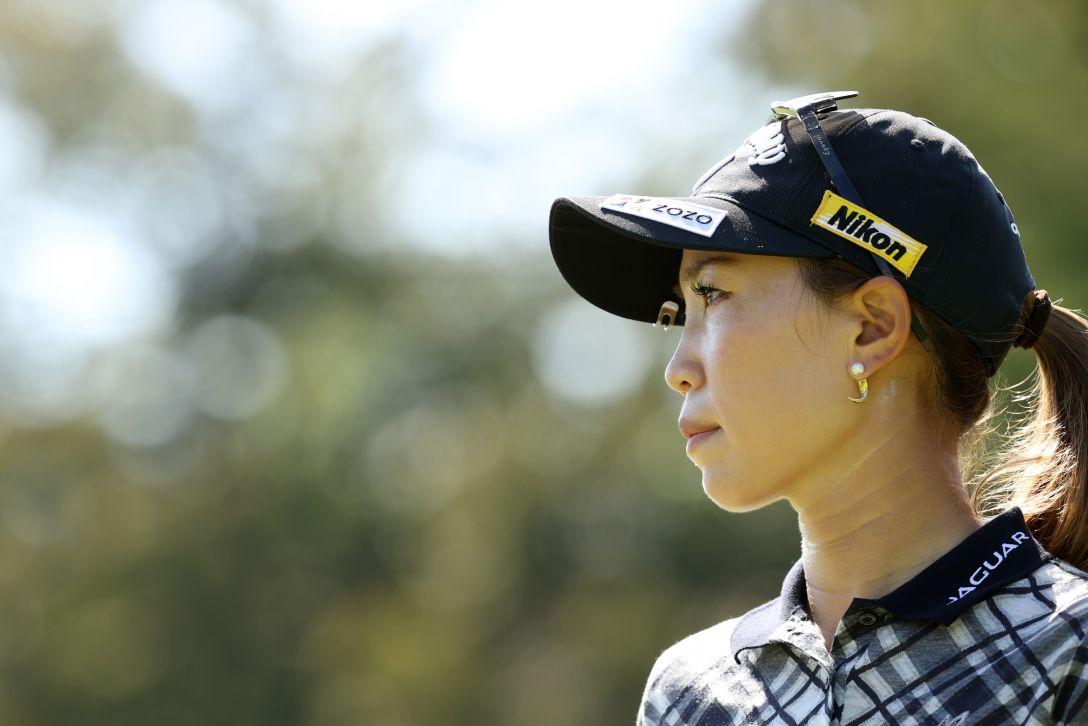 日本女子プロゴルフ選手権大会コニカミノルタ杯 第2日 上田桃子 <Photo:Atsushi Tomura/Getty Images>