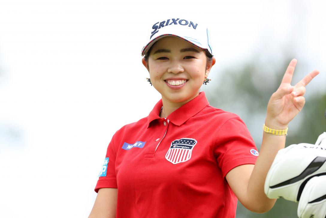 日本女子プロゴルフ選手権大会コニカミノルタ杯 第2日 山下美夢有 <Photo:Atsushi Tomura/Getty Images>