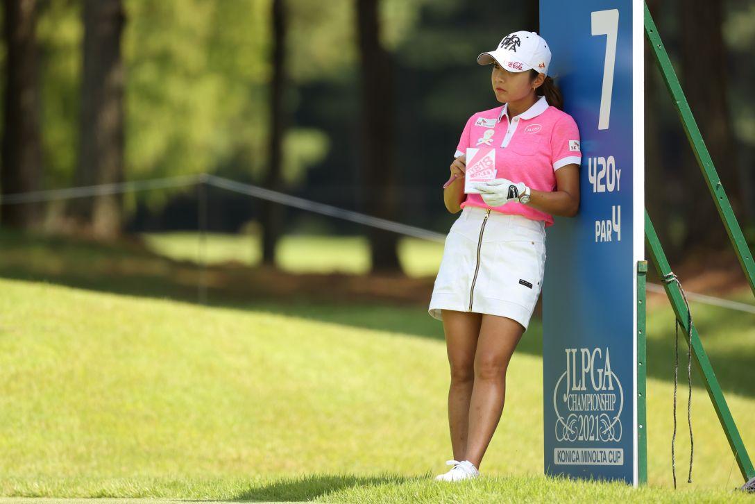 日本女子プロゴルフ選手権大会コニカミノルタ杯 第2日 イボミ <Photo:Atsushi Tomura/Getty Images>
