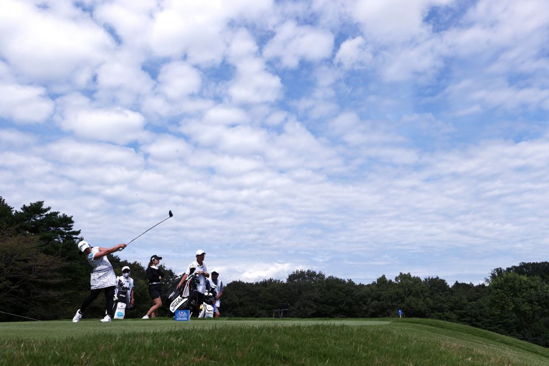 日本女子プロゴルフ選手権大会コニカミノルタ杯 第2日 鈴木愛 <Photo:Atsushi Tomura/Getty Images>