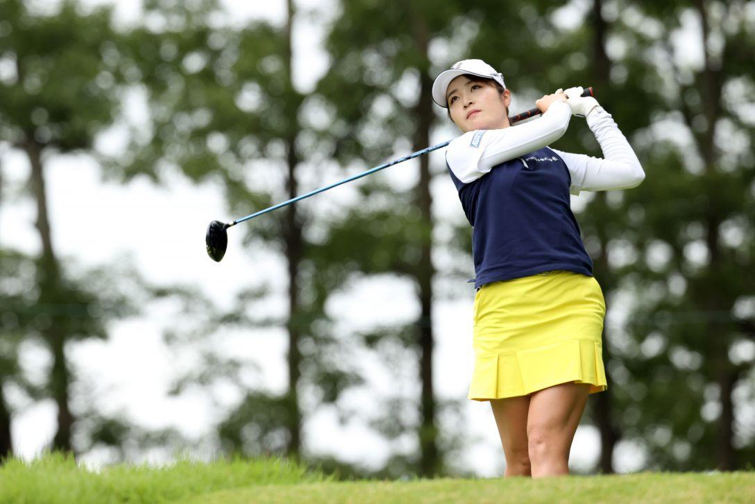 日本女子プロゴルフ選手権大会コニカミノルタ杯 第3日 三ヶ島かな <Photo:Atsushi Tomura/Getty Images>