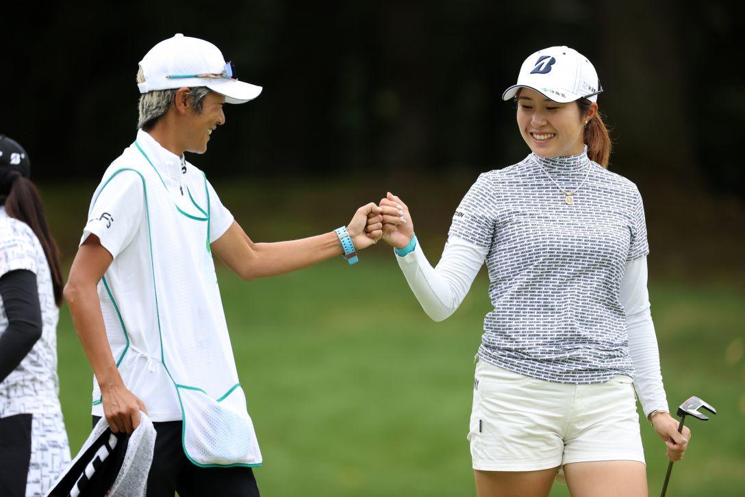日本女子プロゴルフ選手権大会コニカミノルタ杯 第3日 大里桃子 <Photo:Atsushi Tomura/Getty Images>