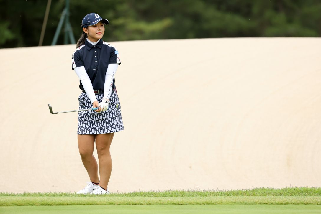日本女子プロゴルフ選手権大会コニカミノルタ杯 第3日 吉田優利 <Photo:Atsushi Tomura/Getty Images>