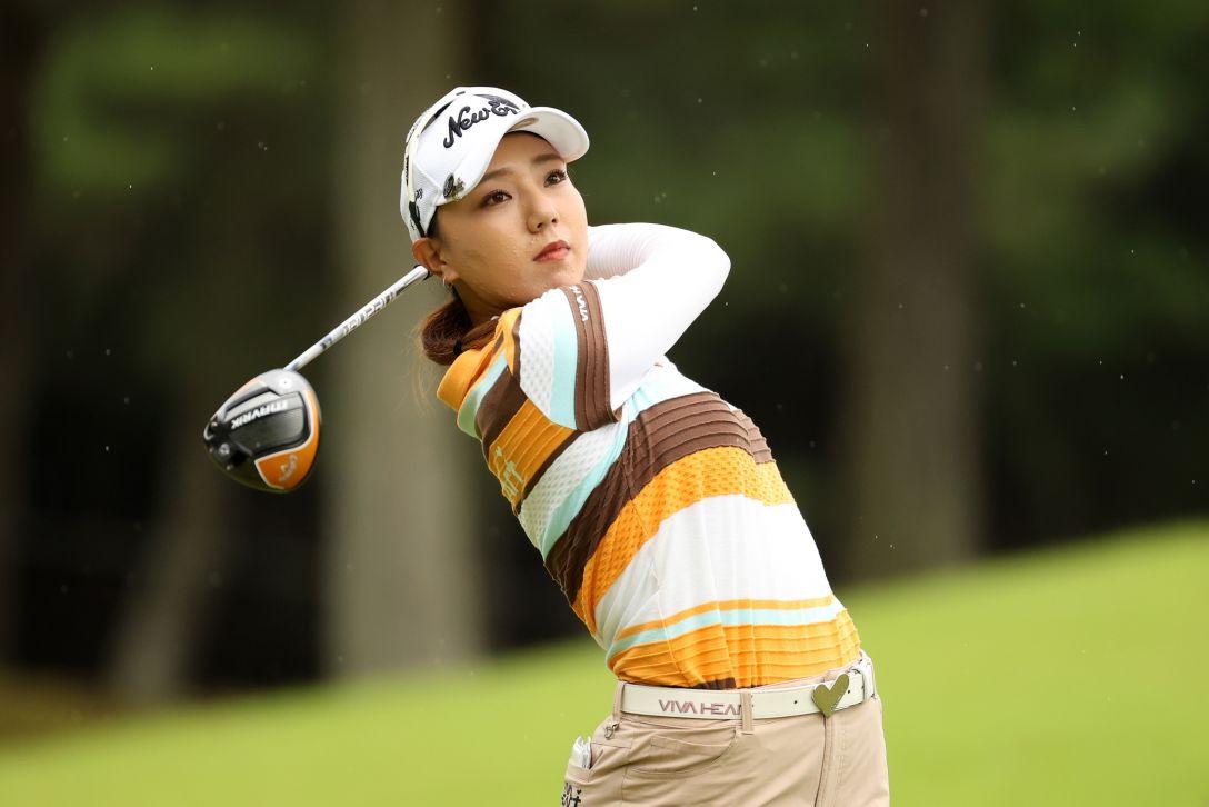日本女子プロゴルフ選手権大会コニカミノルタ杯 第3日 宮田成華 <Photo:Atsushi Tomura/Getty Images>