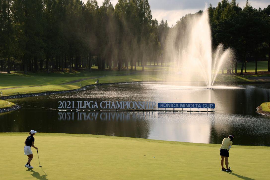 日本女子プロゴルフ選手権大会コニカミノルタ杯 第3日 勝みなみ <Photo:Atsushi Tomura/Getty Images>