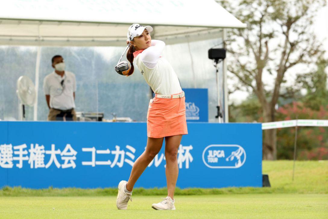 日本女子プロゴルフ選手権大会コニカミノルタ杯 最終日 宮田成華 <Photo:Atsushi Tomura/Getty Images>