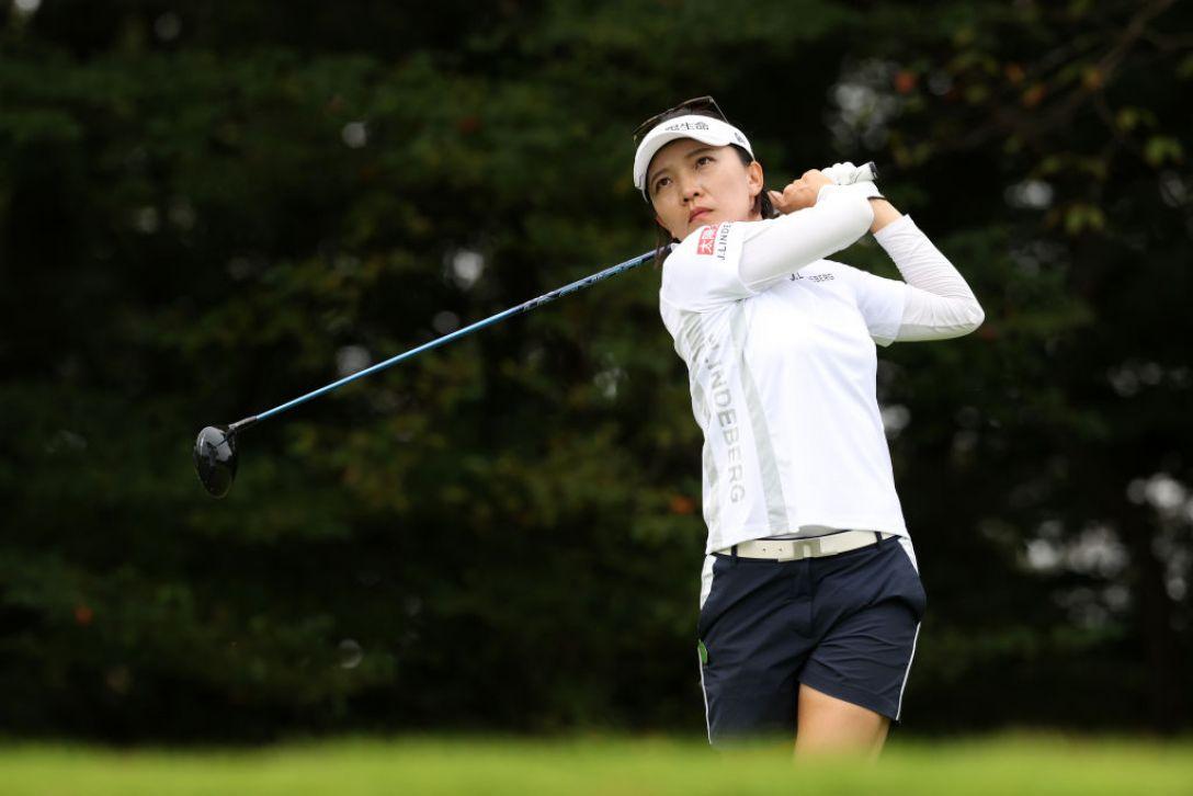日本女子プロゴルフ選手権大会コニカミノルタ杯 最終日 テレサ・ルー <Photo:Atsushi Tomura/Getty Images>