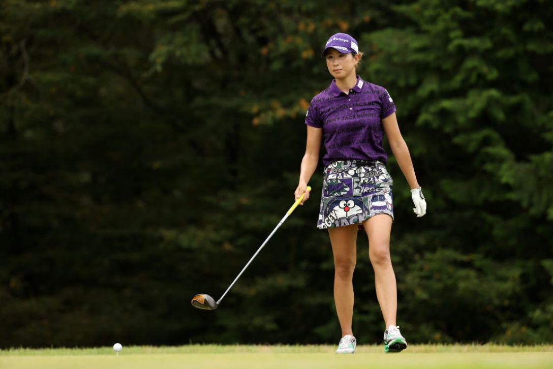 日本女子プロゴルフ選手権大会コニカミノルタ杯 最終日 木戸愛 <Photo:Atsushi Tomura/Getty Images>