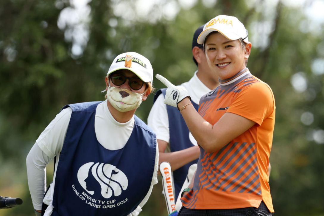 第48回ミヤギテレビ杯ダンロップ女子オープンゴルフトーナメント 第1日 成田美寿々 <Photo:Atsushi Tomura/Getty Images>